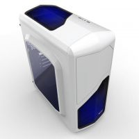 航嘉MVP mini机箱电脑主机箱 空箱 迷你型台式电脑机箱 带侧透3.0