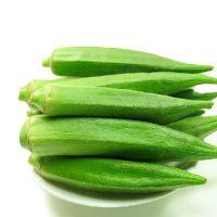 农产品土特产批发新鲜蔬菜 绿色有机 黄秋葵