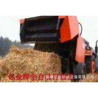 全新牧草捡拾打捆机 后置悬挂打捆机价格 农业秸秆收获机械