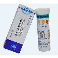 北京精凯达JK22382过氧乙酸残留测试纸25-500mg/l 过氧乙酸检测试条