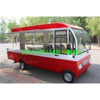 德州润如吉餐车定制流动电动鲜果炒酸奶车多功能餐车早餐车可移动售货车