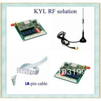 KYL-812 3km 433mhz 4-way I/O Module for water level Control I/O Port Communication ON-OFF Control