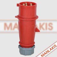 厂家直销 德国进口品牌 工业防水插头插座TYP-3 航空插头 5芯16A 400V