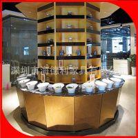 热卖 酱料台 自助餐厅多边形不规则金属配料台 火锅店酱料台订做