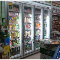 供应安德利豪华玻璃门便利店冷藏柜饮料柜(H2-4)