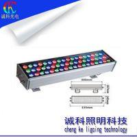 LED户外灯具36W单颗大功率投光灯防水灌胶质保2年DMX512小液晶