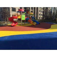 天津幼儿园塑胶地坪_彩色塑胶地坪施工