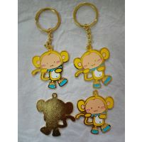 哈尔滨金属钥匙扣厂家猴年钥匙扣订做高档车标钥匙扣制作