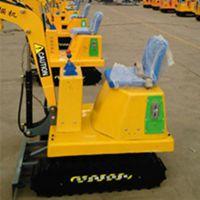 厂家小型游乐设备优质产品 儿童游乐挖掘机操作简便价格合理济宁三石机械