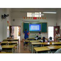 株洲教学一体机哪款好? 晶致创享65寸学校交互式教学触控一体机 推拉式绿板 I5处理器