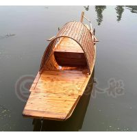 厂家直销纯手工制作 乌篷船 手划船 小木船 旅游船 仿古木船 观光船 服务类船