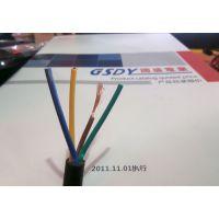 深圳保质2年RVV4*1.0平方护套线黑色电缆CCC电源线 代理加盟