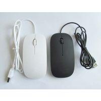 远销全球 工厂 礼品 批发 超薄 有线苹果 光电鼠标 LOGO定制 USB