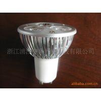 供应:厂家直销大功率LED灯杯GU10  PAR灯 室内橱窗装饰照明灯具