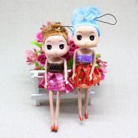 韩版女孩挂件 卡通娃娃手机挂件 钥匙挂件