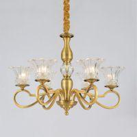 金雅新品!欧式水晶吊灯简欧餐厅卧室客厅书房灯具罩艺术灯饰