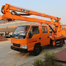 江铃高空作业平台车,14米16米高空作业升降车型号价格图片