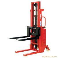 手推电升电动堆垛机/半电动堆高车