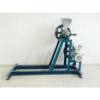 多花型膨化组合机设备 柴电两用多功能膨化机 鼎信厂家专业制造