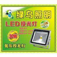 绿鸟IP6512V投光灯,24VLN-DYTGD,36V投射灯,110V投光LED灯,127V工矿灯