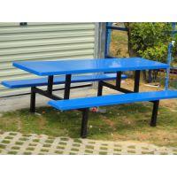 东莞康腾供应玻璃钢食堂工厂餐桌椅玻璃钢材质 防水防腐蚀防油污