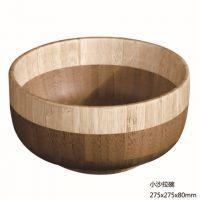 供应高端出口竹碗 竹制碗 竹果碗 竹制沙拉碗符合欧盟标准