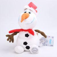 迪士尼动画FROZEN冰雪奇缘/冰雪大冒险 圣诞雪宝毛绒公仔玩具玩偶