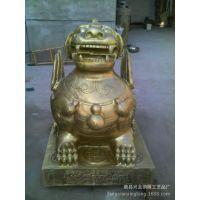 兴龙铜雕可批发定制貔貅  铜貔貅  铜貔貅雕塑工艺品   厂家直销