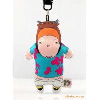 特 OMESS创意手工布艺玩偶手机链卡通挂件 十二生肖钥匙扣  礼品