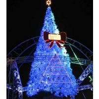 河北滨州大型圣诞树工厂5米6米7米8米10米圣诞树来图订做