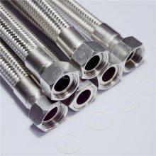 供应A系列国标金属波纹软管 安装空调金属软管 伸缩不锈钢金属软管
