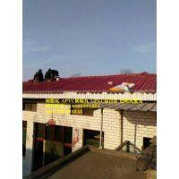 北京房山屋顶隔热装饰仿古树脂瓦