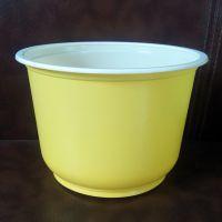 诸城厂家直销一次性黄白双色耐高温打包碗