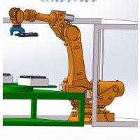 电动汽车电池机器人自冲铆接机,电动车电池机器人自冲铆