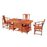 客厅家具 可定做誉典福厂家直销古典 牡丹茶台 山东家具城