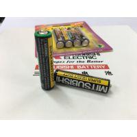 生产厂家直接供应三菱7号碳性干电池 AAA R03玩具MITSUBISHI 防盗器报警器专用电池
