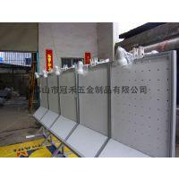 展览方柱展板 带轮子移动方铝展板 拆装式铝合金方柱展架价格