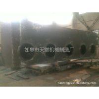 供应焊接加工订制压机 四柱、单柱、框架配套油箱Q235B
