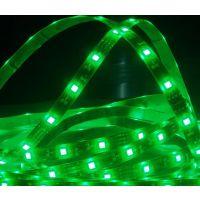 led 5050软灯条绿光 滴胶软光条  防水软灯带  软光条