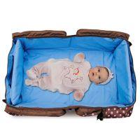 大容量时尚多功能妈咪包厂家批发手提车载婴儿床