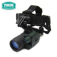 YUKON育空河3x42单筒1代高清头盔头戴式红外夜视仪打猎军工品质