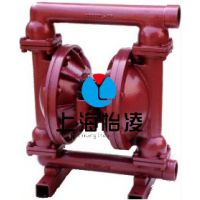 生产供应气动隔膜泵|QBK-50不锈钢气动隔膜泵 上海怡凌