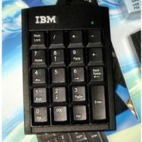 IBM数字键盘 财务键盘 银行密码键盘 笔记本数字键盘 USB有线键盘