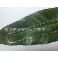 厂家供应不锈钢304/316L 手链配件 首饰链条 焊链四方链 磨链