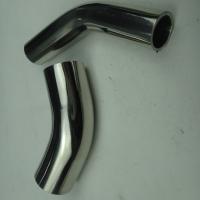 304/316L 不锈钢卫生级 3A 45度焊接加长弯头 天目