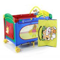 豪华款便携折叠游戏床多功能婴儿床旅行床摇