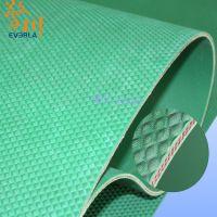 擎川everlar直销凸起花纹绿色橡胶输送带 制药厂流水线专用