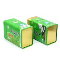 高品质碧螺春铁盒 普洱茶叶铁盒包装 精美绿茶铁盒子 量大从优