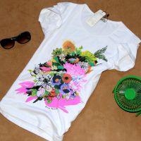 服装厂现货个性印花纯棉大码女装民族风森女风百搭打底短袖T恤潮