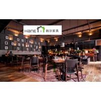 供应长宁区高档餐厅桌椅 HR-Z115复古西餐厅桌椅 上海韩尔家具厂